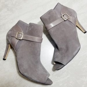 Marc Fisher Shimmee Peep Toe Bootie